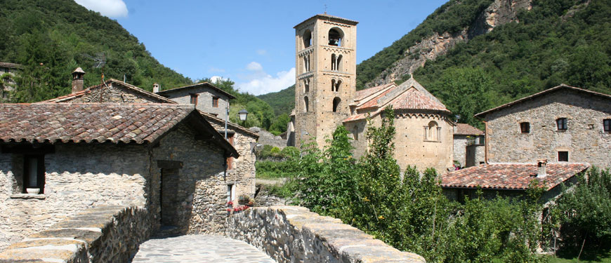 Camping-the-Familie-Solana-Pyrenees Girona-Beget-camprodon