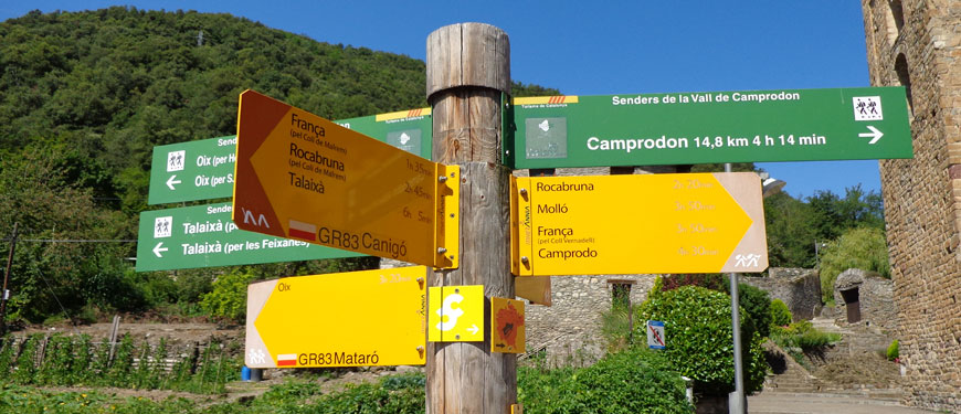 Camping-the-family-Solana-Pyrenees Girona-camprodon-Beget-8