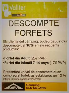 Vallter discounts